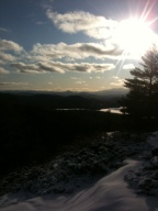 What I did this weekend on the Adirondack Coast! Hike up Rattlesnake Mountain