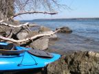 What I did this weekend on the Adirondack Coast…….. Kayaking Lake Champlain.