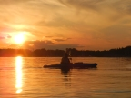 What I did this weekend on the Adirondack Coast……. Paddle paddle paddle