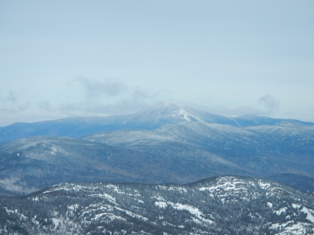 Whiteface Mountain in the distance.