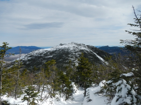 The view of Wright peak from Algonquin.