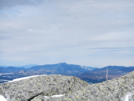 Looking toward Whiteface Mountain from Wright Peak