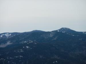 Giant and Rocky Peak Ridge from Hurricane Mountain.