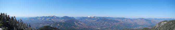 The view from the summit of Giant Mountain.