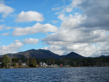 McKensie Mountain from Lake Flower 10/20/2013